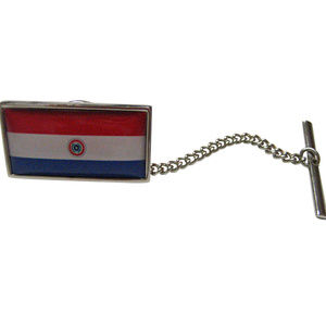 Paraguay Flag Tie Tack